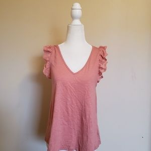 Anthro eri and ali blouse size small